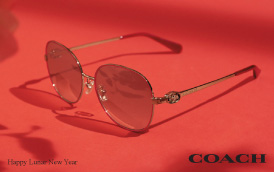 【太陽眼鏡新品】COACH 2021農曆新年新品推介
