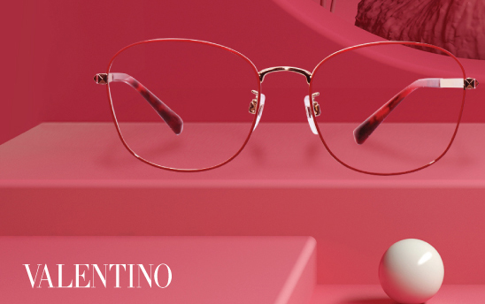 【眼鏡新品】Valentino 奢華藏於細節