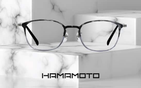 【眼鏡新品】Hamamoto 超輕盈設計